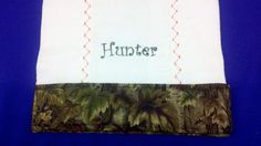 Personalized Burp Pad/Cloth for Boys by AnneMarieSewing on Etsy, $9.00