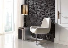Nepal Stone Panel - Brown - Decorative Stone Effect Wall Covering- Nepal, Wall Writing, Stone Panels, Classic Collection, Stores, Decoration, Slate, Dining Chairs, Inspiration
