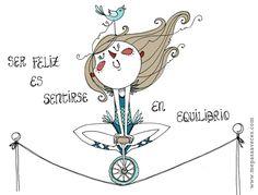 Equilibrio By Me pasa a veces #Nutrición y #Salud YG > nutricionysaludyg.com
