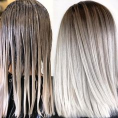 blonde hair Shadow Root Hair: Low Maintenance Melted Looks Landscaping, An American Pass Time Articl Ice Blonde Hair, Blonde Hair Looks, Platinum Blonde Hair, Ombre Hair, Icy Hair, Light Hair, Balayage Hair, Blonde Roots, Hair Roots
