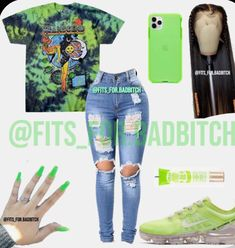 Baddie Outfits Casual, Swag Outfits For Girls, Cute Teen Outfits, Cute Outfits For School, Teenage Girl Outfits, Cute Comfy Outfits, Teenager Outfits, Dope Outfits, Teen Fashion Outfits