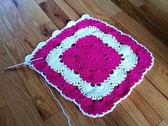 Virus Blanket Pattern                        Written and worked up By Jonna Martin...