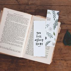 Hand Illustrated Bookmark (set of 6)   hardtofind.