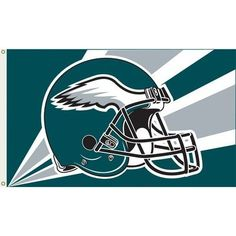 Philadelphia Eagles NFL Helmet Design 3'x5' Banner Flag by Fremont Die by Fremont Die. $27.99. Usually ships within 1-2 business days.. NFL Products. Philadelphia Eagles. 94217B NFL Team: Philadelphia Eagles Features: -Flag.-Made of durable, 100pct polyester.-Show everyone that you are a die-hard fan by hanging up this 36'' x 60'' NFL flag. Color/Finish: -Decorated in the team colors and proudly displays the official team graphics in the center. Specifications...