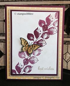 Eclectic Butterfly Blendability by Mis.ty - Cards and Paper Crafts at Splitcoaststampers