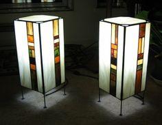 Resultado de imagen para tutorial lamparas tiffany