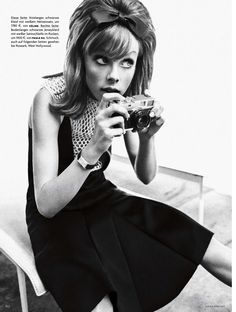 ZEITSPRUNG: EDIE CAMPBELL BY SEBASTIAN KIM FOR VOGUE GERMANY MARCH 2013