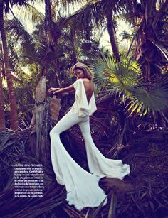 Hana Jirickova Gets Tropical for Vogue Latin Americas 2013 April Cover Shoot