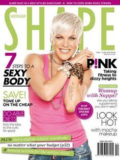 P!nk magazine cover