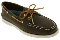 Sperry 'Authentic Original' Leather Boat Shoe (Women) on shopstyle.com