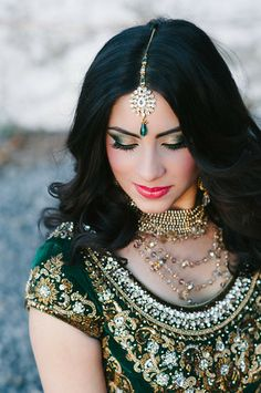 Stunning South Asian bride featured in Lavish Dulhan, photo shoot at Cambium Farms. South Asian Bride, Asian Bridal, Indian Outfits, Farms, Pakistani, Desi, Photo Shoot, Brides, Hair Makeup