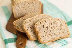 Ricetta facile veloce per pane senza glutine con farina di grano saraceno, solo farine naturali senza mix pronti lievitazione breve
