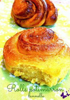 Brioche potimarron cannelle – Cinnamon pumpkin rolls Recipe for brioche with autumn colors, pumpkin and cinnamon. Cinnamon rolls even better! Pumpkin Recipes, Fall Recipes, Sweet Recipes, Vegan Desserts, Dessert Recipes, Bread Dough Recipe, Brioche Recipe, Muffins, Quick Easy Desserts