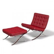 Barcelona Armchair designed by Mies van der Rohe & Ludwig for KNOLL.   www.santiccioli.com  Instagram: @arredamenti_santiccioli