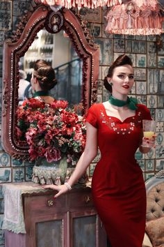 Idda van Munster - ❤️ Daisy Dapper Simone pencil dress ❤️