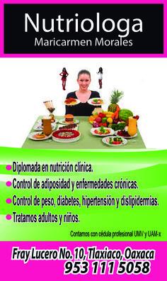 Nutriologos en Tlaxiaco.