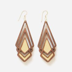 Image result for laser cut wood earrings