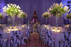 table setting for wedding | The wow factor by Preston Bailey. This is beyond gorgeous from the ...