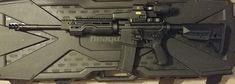 M400 with A*B Arms Hand Guard Submissive, Arms, Guns