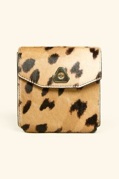 Alexander Wang Trigone Leopard Print Compact at Opening Ceremony