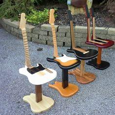 guitar stools - really cool!