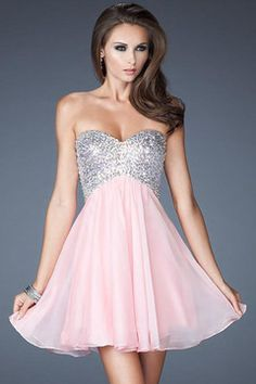 sweetheart empire waist sequins short length homecoming dress