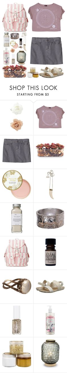 """One day at a time (is all we do)"" by intermittency ❤ liked on Polyvore featuring Forever 21, Patagonia, John-Richard, Paul & Joe, By Malene Birger, Très Pure, Anaconda, Dolce Vita, Soap & Glory and Urban Hydration"