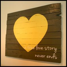 Pallet  Heart Sign by CaliLandChicDesigns on Etsy, $135.00