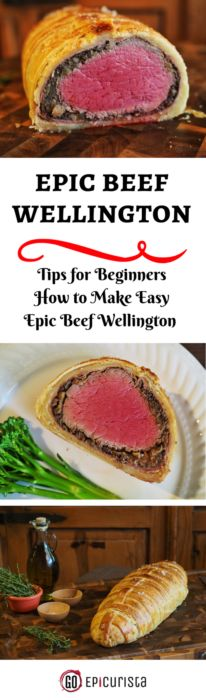 Epic Beef Wellington perfect for Thanksgiving and Christmas! Surprisingly easy recipe with modern updates. Tips on How to Make Beef Wellington for Beginners. @flbeefcouncil #Beefsgiving