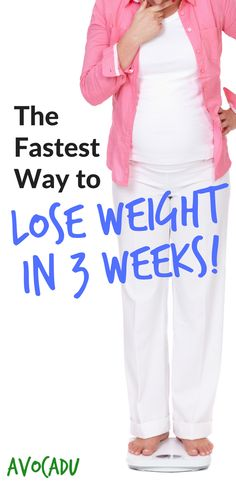 Fast way to lose weight in a month