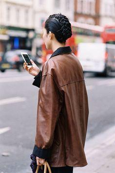 London Fashion Week AW 2015....Jing