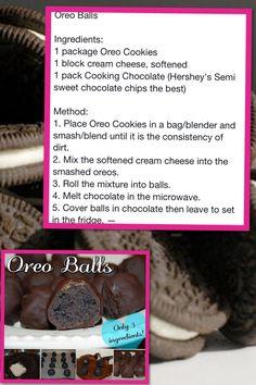 Oreo balls <3