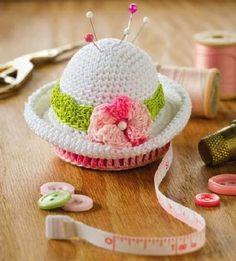 Alfileteros encantadores al crochet | Todo crochet