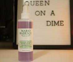 Cheap Thrills – Mario Badescu Facial Spray