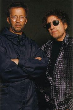 Eric Clapton & Bob Dylan. Yes, Bob Dylan. Listen to 'Live At The Gaslight 1962' and tell me I'm wrong.
