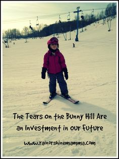 The Tears on the Bunny Hill Are an Investment in Our Future (Outdoor Play Party)