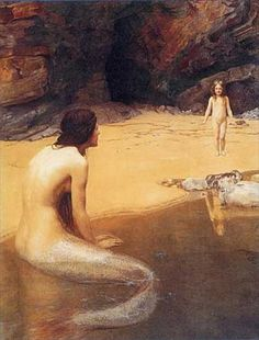 """The Land Baby""-by Hon John Collier.                       *Artmagic"