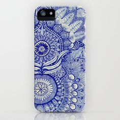 blue iPhone & iPod Case by Yes Menu - $35.00