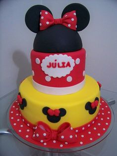 what a beauty! Minnie Mouse Cake Design, Minnie Mouse Birthday Cakes, Mini Mouse, Ideas Para Fiestas, Breast Cancer, Party Favors, Mary, Party Ideas, Baby Shower