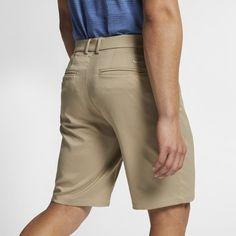 Nike Flex Men's Golf Shorts - Khaki Nike Flex, Nike Dri Fit, Mens Golf Outfit, Lining Fabric, Khaki Pants, Mens Fashion, Shorts, Tees, Fitness