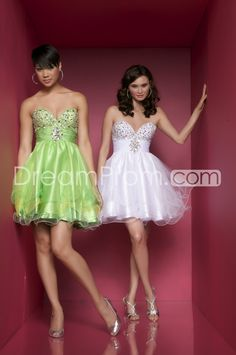 6bdcb02f41 Dramatic And Sexy Organza Empire Sweetheart Short Mini Prom Cocktail Dresses  Ring Dance Dresses