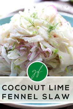 Coconut-lime has to be one of my all-time favorite flavor combinations. The citrus combined with creaminess of the coconut just soothes my soul!! And I'm here trying it with some delicious spring fennel and very thinly sliced red onion. Gluten Free Grains, Vegan Gluten Free, Paleo, Quick Easy Meals, Easy Dinner Recipes, Easy Recipes, Coconut Recipes, Dairy Free Recipes