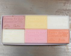 Coffret Savons Pour Elle / Soap Gift Box for Her