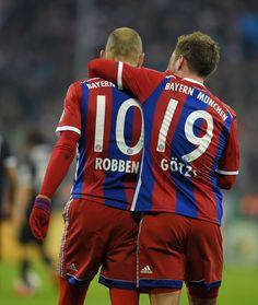 Robben & Gotze