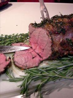 Herb and Garlic Roasted Leg of Lamb Recipe - News - Bubblews Lamb Roast Recipe, Roast Lamb Leg, Goat Recipes, Snack Recipes, Cooking Recipes, Lamb Shanks, Lamb Chops, Lamb Dishes, Fish Dishes