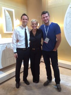 Thank you Travis, Senior Product Designer,  for showing us all that's new at Kohler! #KBIS2014