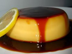 Flan de limón en microondas, foto 1