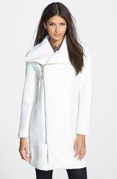 Glamorous Asymmetrical Zip Coat