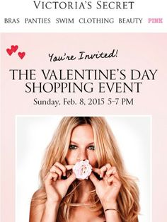 Tomorrow night is the Valentine's Day Shopping Event! - Victoria's Secret