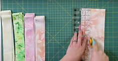 She Starts By Cutting Strips And You Won't Believe The Quilt She Ends Up With!